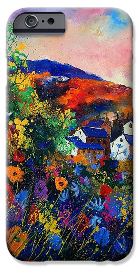 Landscape IPhone 6 Case featuring the painting Summer by Pol Ledent