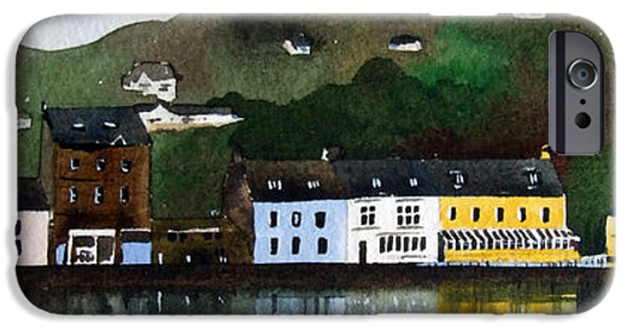 Landscape IPhone 6 Case featuring the painting Tarbert by Paul Dene Marlor