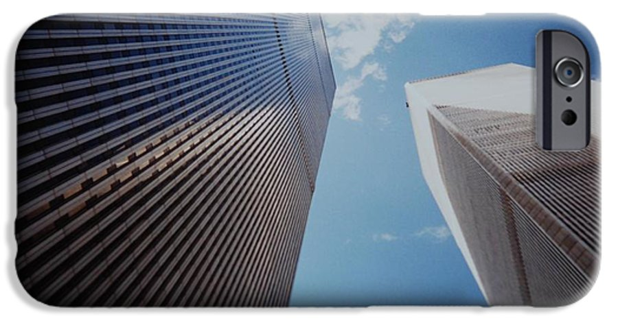 Wtc IPhone 6 Case featuring the photograph W T C 1 And 2 by Rob Hans