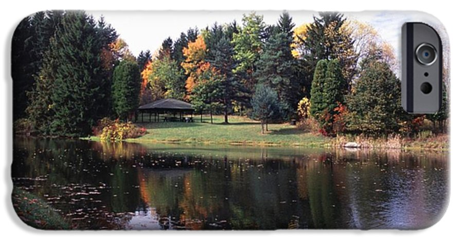 Autumn Colors IPhone 6 Case featuring the photograph 102201-23 by Mike Davis