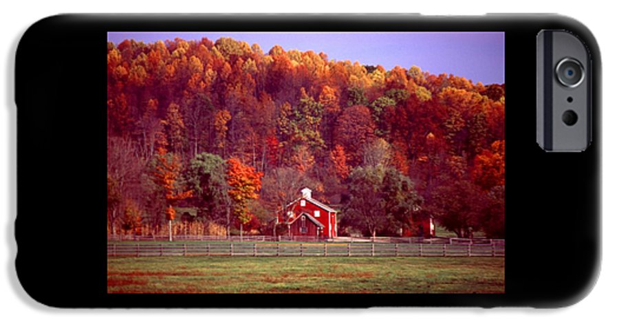 Autumn IPhone 6 Case featuring the photograph 102701-16 by Mike Davis
