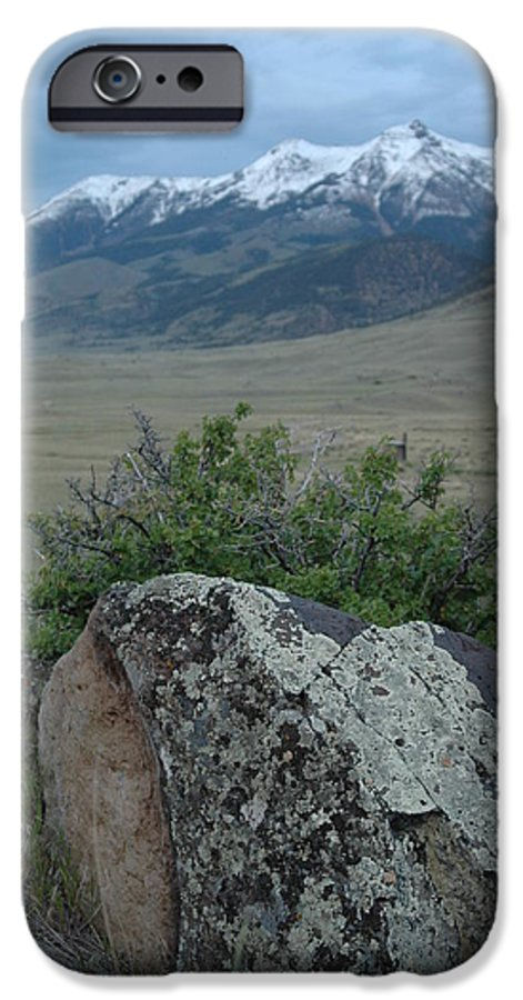 Landscape IPhone 6 Case featuring the photograph Untitled by Kathy Schumann