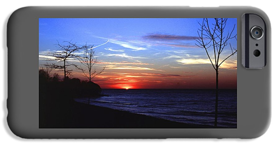 Sunset IPhone 6 Case featuring the photograph 112601-54 by Mike Davis