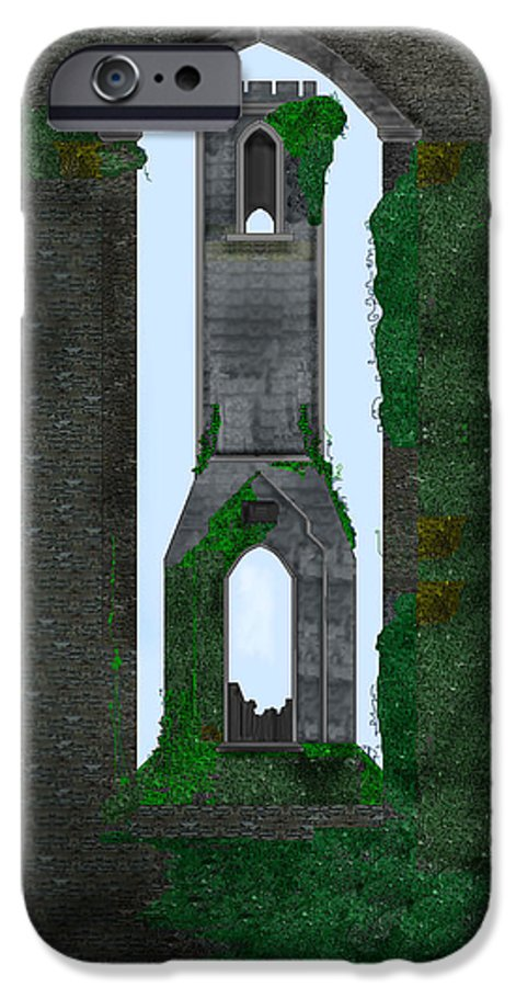 Ireland IPhone 6 Case featuring the painting Quint Arches In Ireland by Anne Norskog
