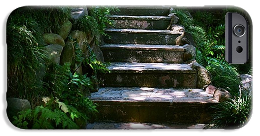Nature IPhone 6 Case featuring the photograph Stone Steps by Dean Triolo