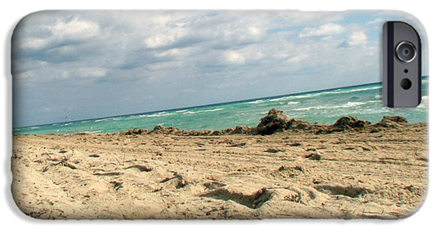 Miami IPhone 6 Case featuring the photograph Miami Beach by Amanda Barcon