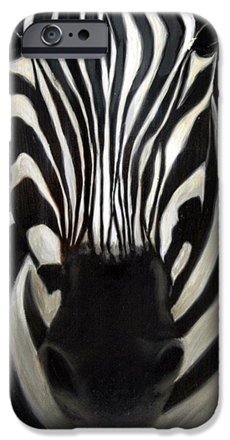For Availability And Prices Of Limited Edition Prints/giclees IPhone 6 Case featuring the painting A Close Look by Greg Neal