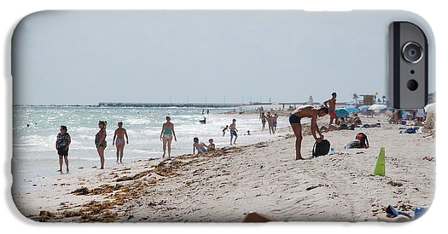 Nude IPhone 6 Case featuring the photograph A Day At Paradise Beach by Rob Hans