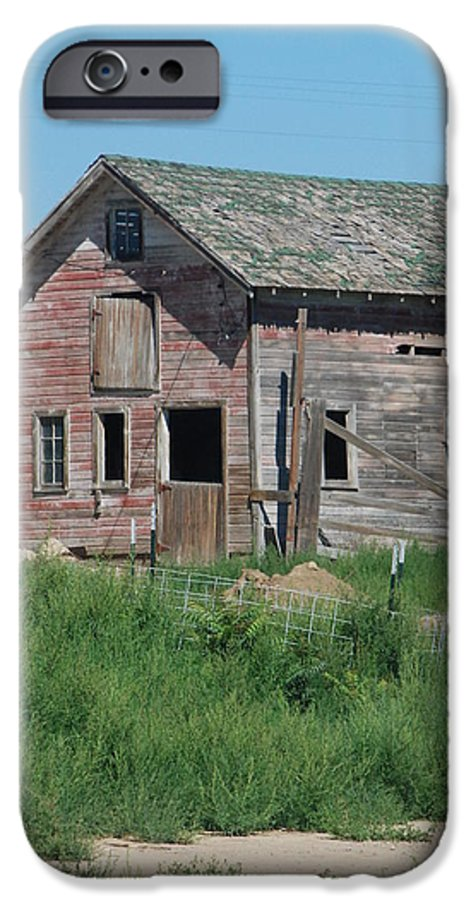 Farm IPhone 6 Case featuring the photograph A Drive In The Country by Margaret Fortunato