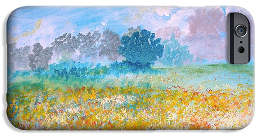 New Artist IPhone 6 Case featuring the painting A Golden Afternoon by J Bauer