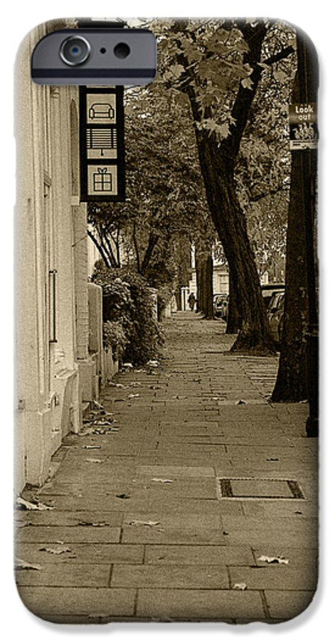 London IPhone 6 Case featuring the photograph A London Street I by Ayesha Lakes