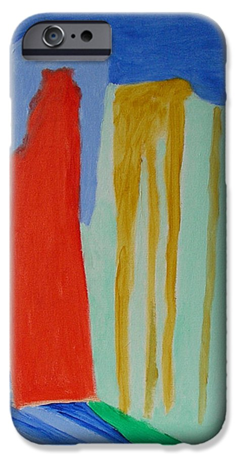 Spiritual IPhone 6 Case featuring the painting A New Beginning by Harris Gulko