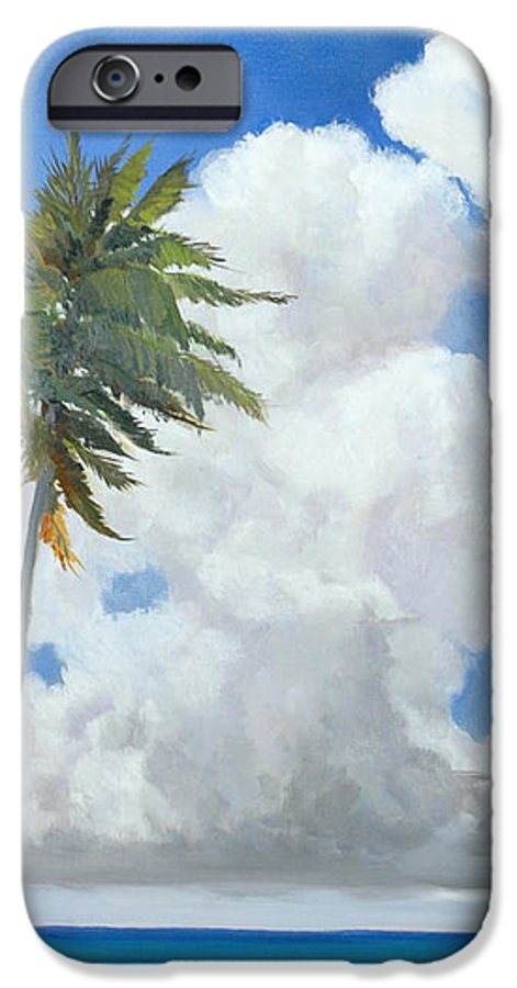 Landscape IPhone 6 Case featuring the painting A Perfect Day by Glenn Secrest