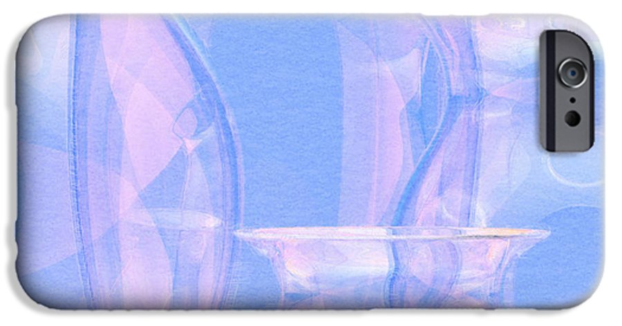 Glass IPhone 6 Case featuring the photograph Abstract Number 21 by Peter J Sucy