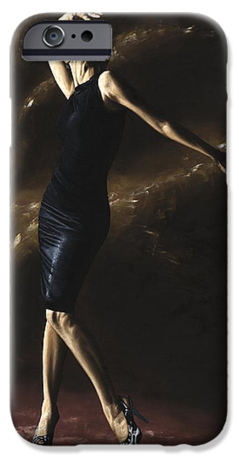 Dance IPhone 6 Case featuring the painting After The Dance by Richard Young