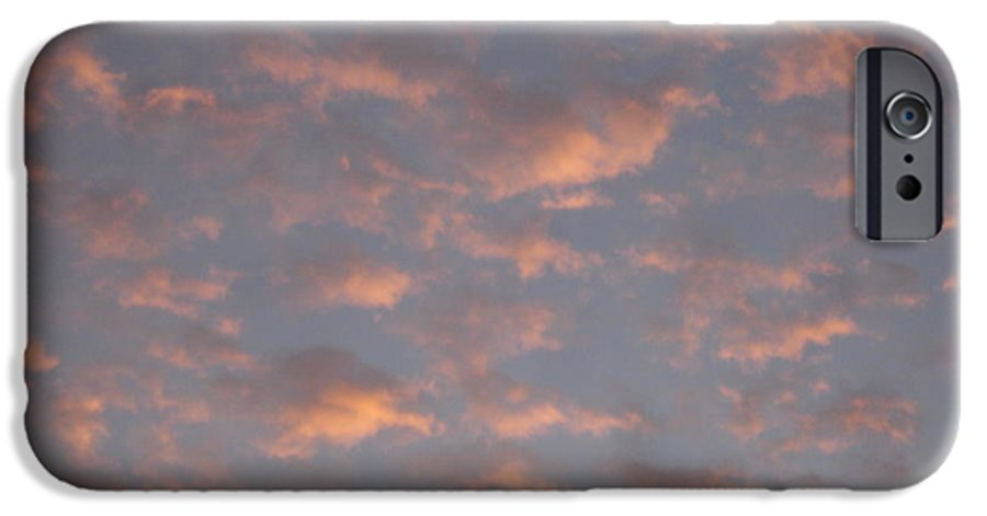 Skyscape IPhone 6 Case featuring the painting Afternoon Sky 11 by Roger Cummiskey