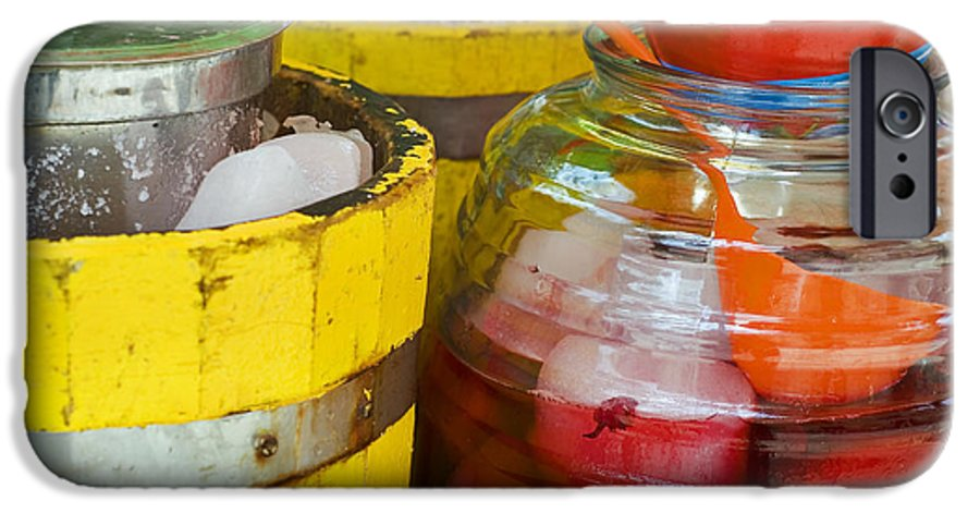 Beverage IPhone 6 Case featuring the photograph Agua De Hamaica by Skip Hunt