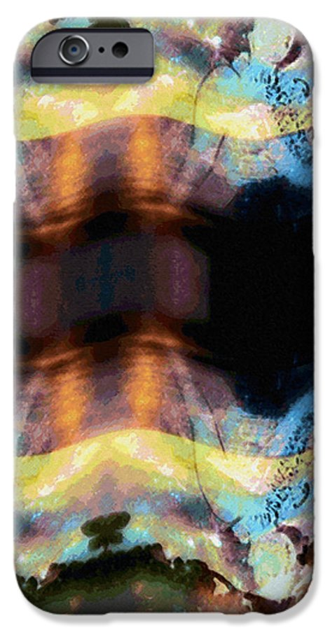 Rainbow Colors Digital IPhone 6 Case featuring the photograph Aia Aku Aia Mai by Kenneth Grzesik