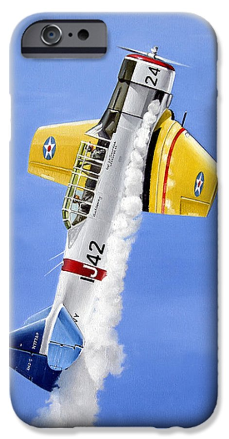Military IPhone 6 Case featuring the painting Air Show by Marc Stewart