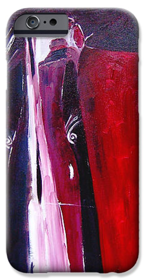Figurative IPhone 6 Case featuring the painting Almost Still Life by Olga Alexeeva