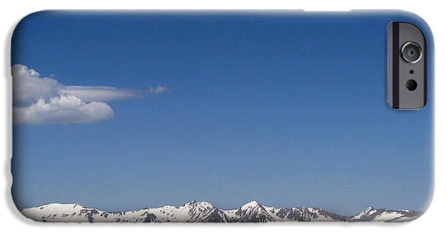 Mountains IPhone 6 Case featuring the photograph Alpine Tundra Series by Amanda Barcon