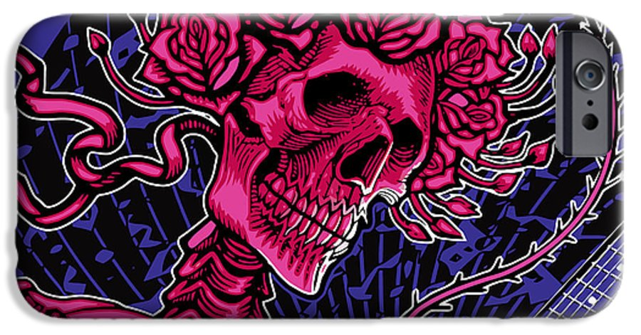 Surfing IPhone 6 Case featuring the digital art Althea by The Bear