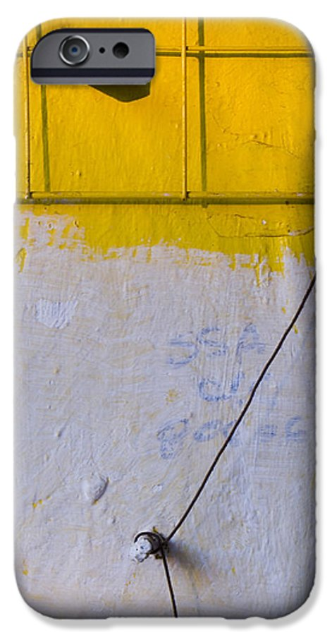 Abstract IPhone 6 Case featuring the photograph Amarillo by Skip Hunt