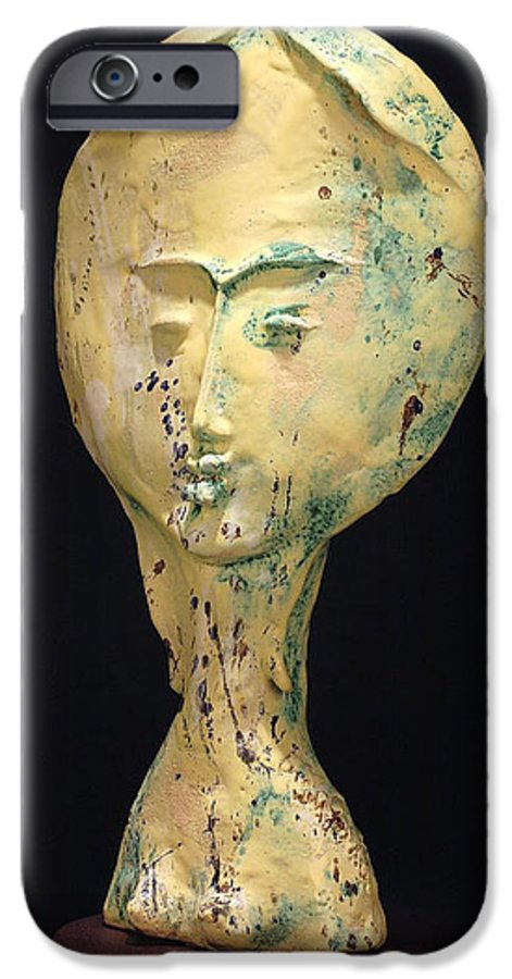 IPhone 6 Case featuring the sculpture Ambrosia by Gian Genta