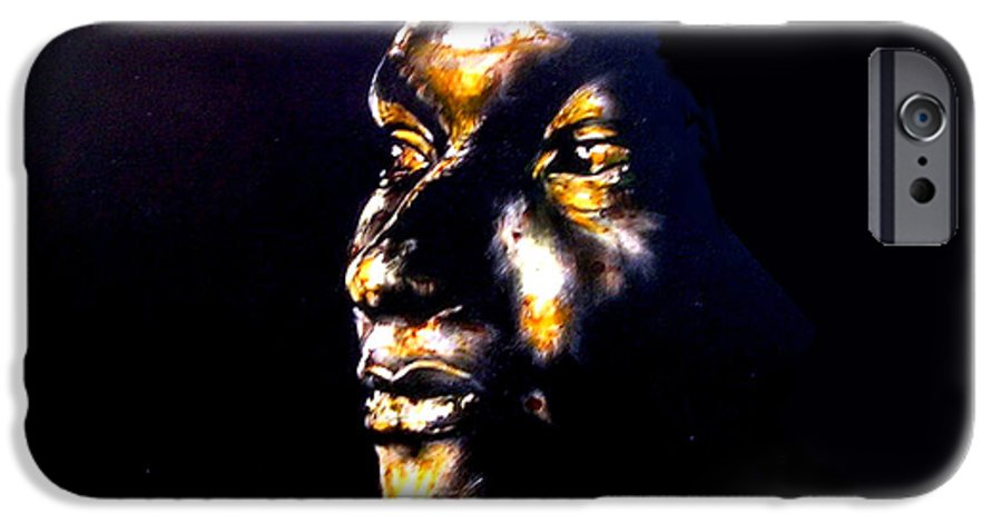 IPhone 6 Case featuring the mixed media And Then Our Eyes Met by Chester Elmore