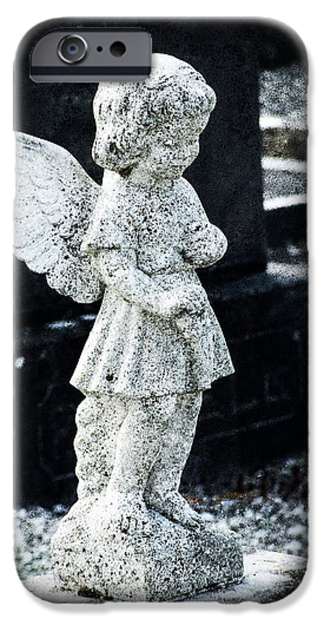 Ireland IPhone 6 Case featuring the photograph Angel In Roscommon No 3 by Teresa Mucha