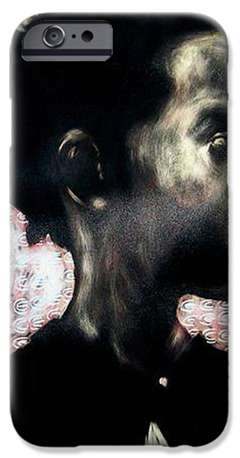 IPhone 6 Case featuring the mixed media Angel Of Mercy by Chester Elmore