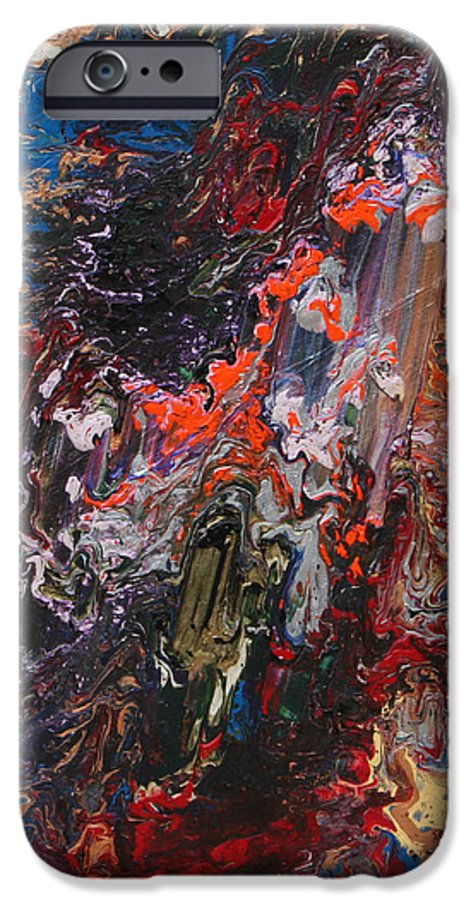 Fusionart IPhone 6 Case featuring the painting Angel Rising by Ralph White