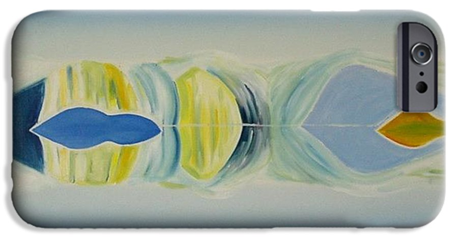 Landscape IPhone 6 Case featuring the painting Arctic Landscape by Jarle Rosseland