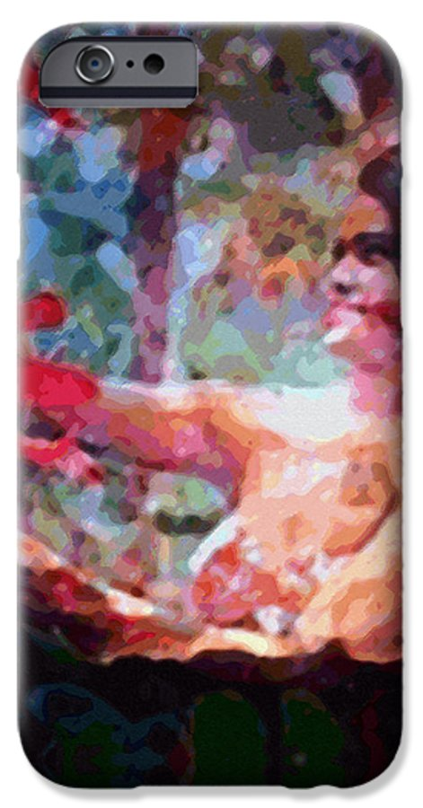 Rainbow Colors Digital IPhone 6 Case featuring the photograph As If by Kenneth Grzesik