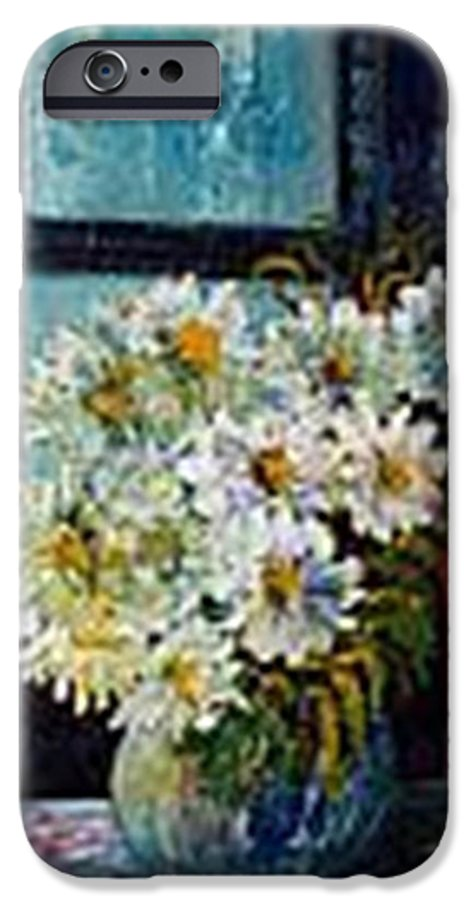 By The Window IPhone 6 Case featuring the painting At Home by Carol P Kingsley