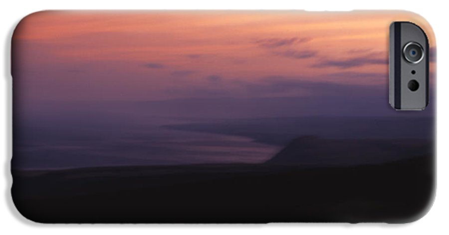 Sunset IPhone 6 Case featuring the photograph At Sundown by Ayesha Lakes