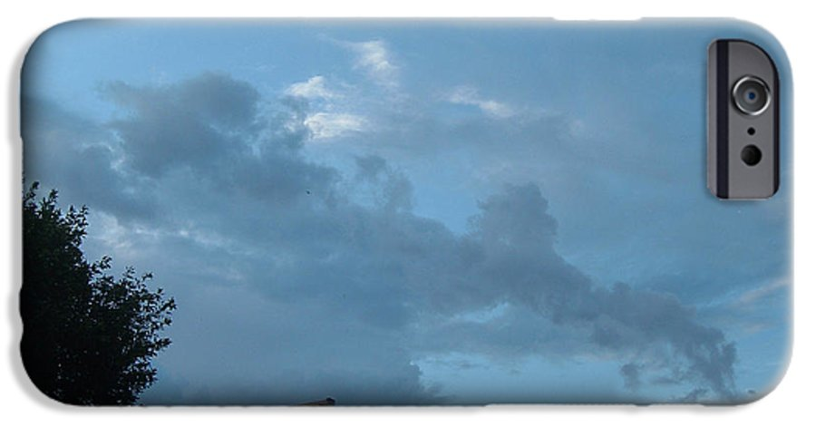 Sky IPhone 6 Case featuring the photograph Atmospheric Barcode 19 7 2008 18 Or Titan by Donald Burroughs