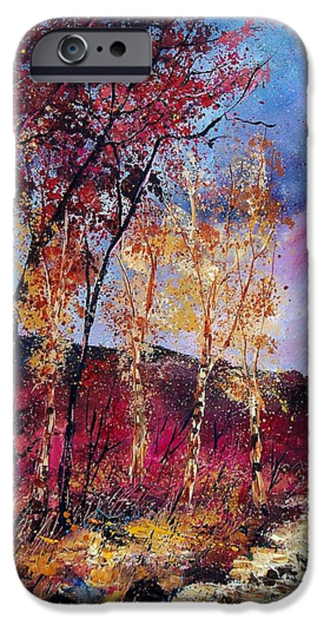 Landscape IPhone 6 Case featuring the painting Autumn 760808 by Pol Ledent