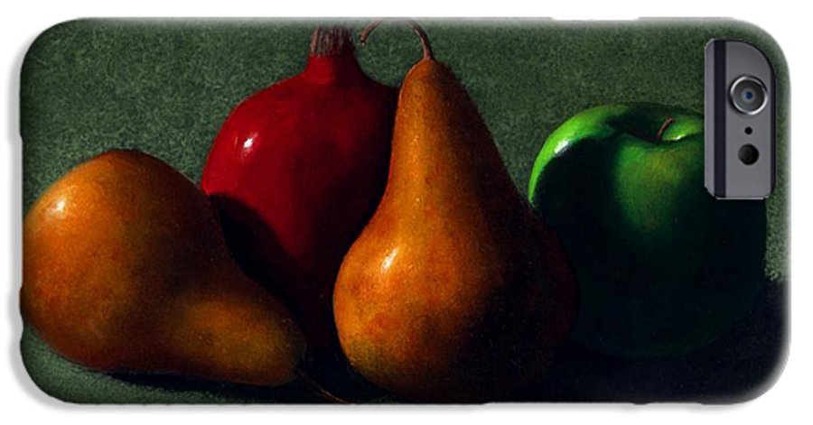 Still Life IPhone 6 Case featuring the painting Autumn Fruit by Frank Wilson