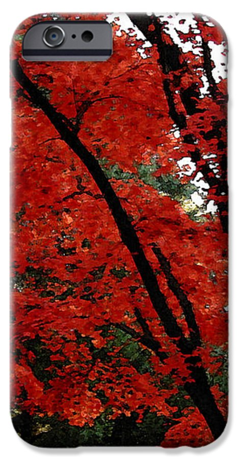 Autumn IPhone 6 Case featuring the photograph Autumn In New England by Melissa A Benson