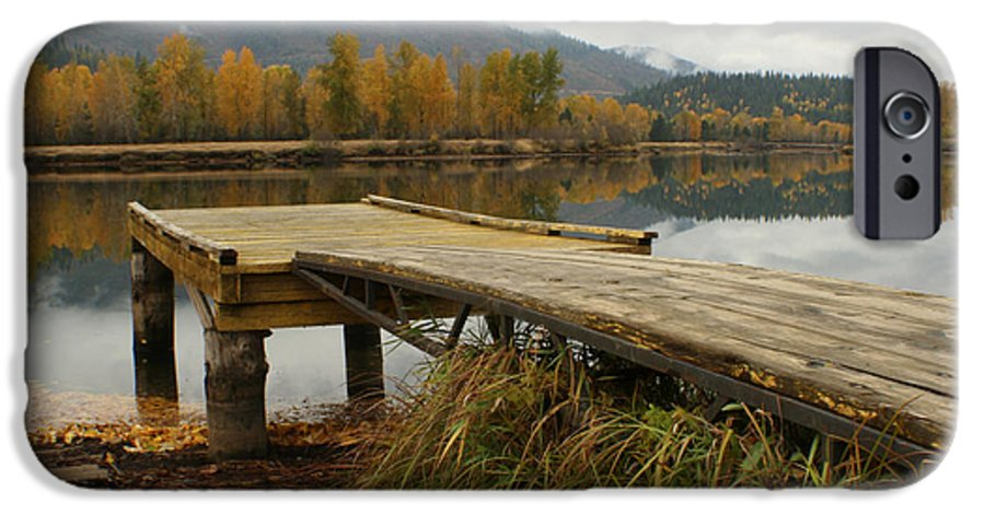 River IPhone 6 Case featuring the photograph Autumn On The River by Idaho Scenic Images Linda Lantzy