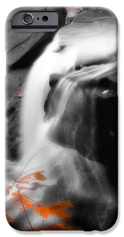 Autumn IPhone 6 Case featuring the photograph Autumn Waterfall Iv by Kenneth Krolikowski