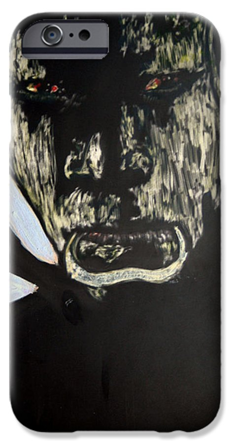 IPhone 6 Case featuring the mixed media Avenging Angel by Chester Elmore