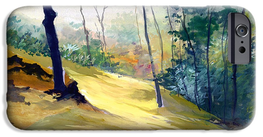 Landscape IPhone 6 Case featuring the painting Balance by Anil Nene