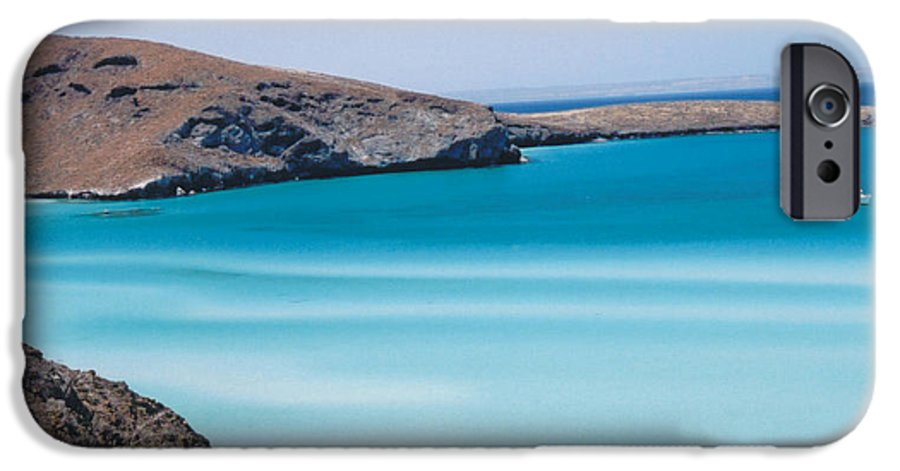 Blue IPhone 6 Case featuring the photograph Balandra Bay by Kathy Schumann