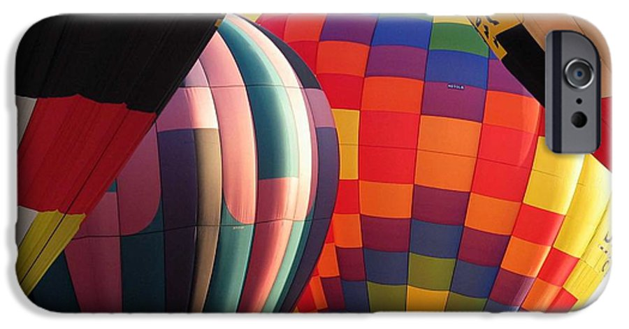 Hot Air Balloons IPhone 6 Case featuring the photograph Balloons by Margaret Fortunato
