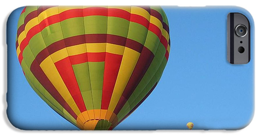 Hot Air Balloons IPhone 6 Case featuring the photograph Balloons New Mexico by Margaret Fortunato