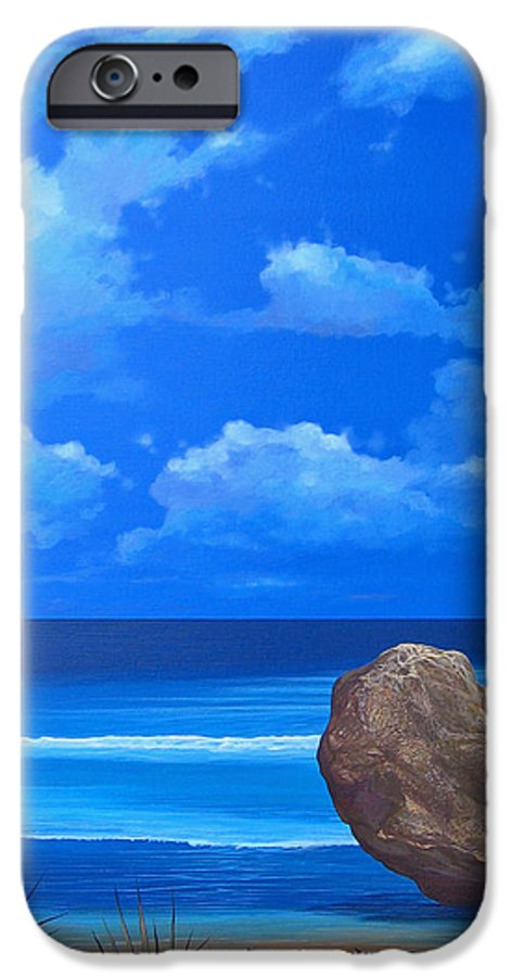 Barbados IPhone 6 Case featuring the painting Bathsheba by Hunter Jay
