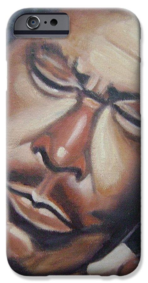 B.b. King IPhone 6 Case featuring the painting B.b. King by Toni Berry