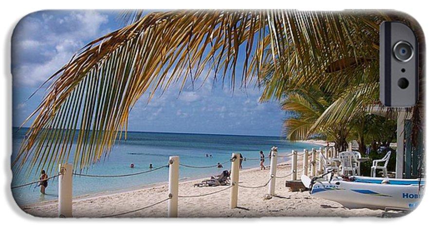 Beach IPhone 6 Case featuring the photograph Beach Grand Turk by Debbi Granruth